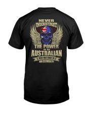 THE POWER AUSTRALIAN - 012 Classic T-Shirt back