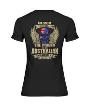 THE POWER AUSTRALIAN - 012 Premium Fit Ladies Tee thumbnail