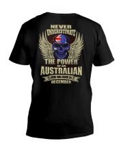 THE POWER AUSTRALIAN - 012 V-Neck T-Shirt thumbnail