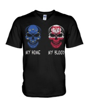 Poland V-Neck T-Shirt thumbnail