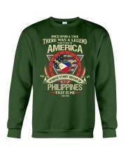 THERE-WAS-A-LEGEND Crewneck Sweatshirt thumbnail