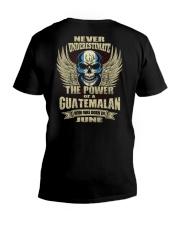 THE POWER GUATEMALA - 06 V-Neck T-Shirt thumbnail
