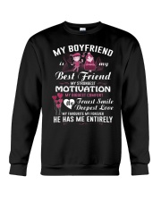 COUPLE: MY BF- MY BEST FRIEND Crewneck Sweatshirt thumbnail