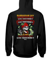 GIVE-THEM-MONEY Hooded Sweatshirt back
