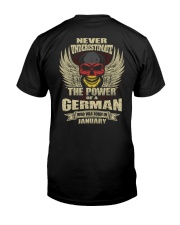 THE POWER GERMAN - 01 Classic T-Shirt back