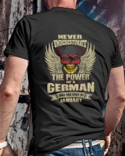 THE POWER GERMAN - 01 Classic T-Shirt lifestyle-mens-crewneck-back-2