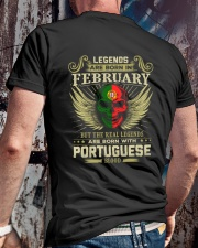 LEGENDS PORTUGUESE - 02 Classic T-Shirt lifestyle-mens-crewneck-back-2