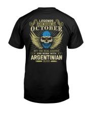 LEGENDS ARGENTINIAN - 010 Classic T-Shirt back