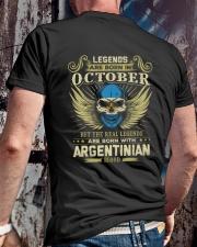 LEGENDS ARGENTINIAN - 010 Classic T-Shirt lifestyle-mens-crewneck-back-2