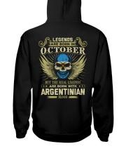 LEGENDS ARGENTINIAN - 010 Hooded Sweatshirt thumbnail