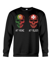My home Portugal- Switzerland Crewneck Sweatshirt thumbnail