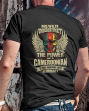 THE POWER CAMEROONIAN - 02 Classic T-Shirt lifestyle-mens-crewneck-back-2