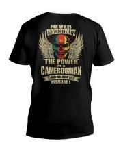 THE POWER CAMEROONIAN - 02 V-Neck T-Shirt thumbnail