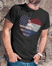 MY HEART Netherlands Classic T-Shirt lifestyle-mens-crewneck-front-4