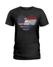 MY HEART Netherlands Ladies T-Shirt thumbnail