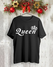 QUEEN Classic T-Shirt lifestyle-holiday-crewneck-front-2