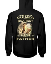 GOD-IS-MY-FATHER Hooded Sweatshirt back
