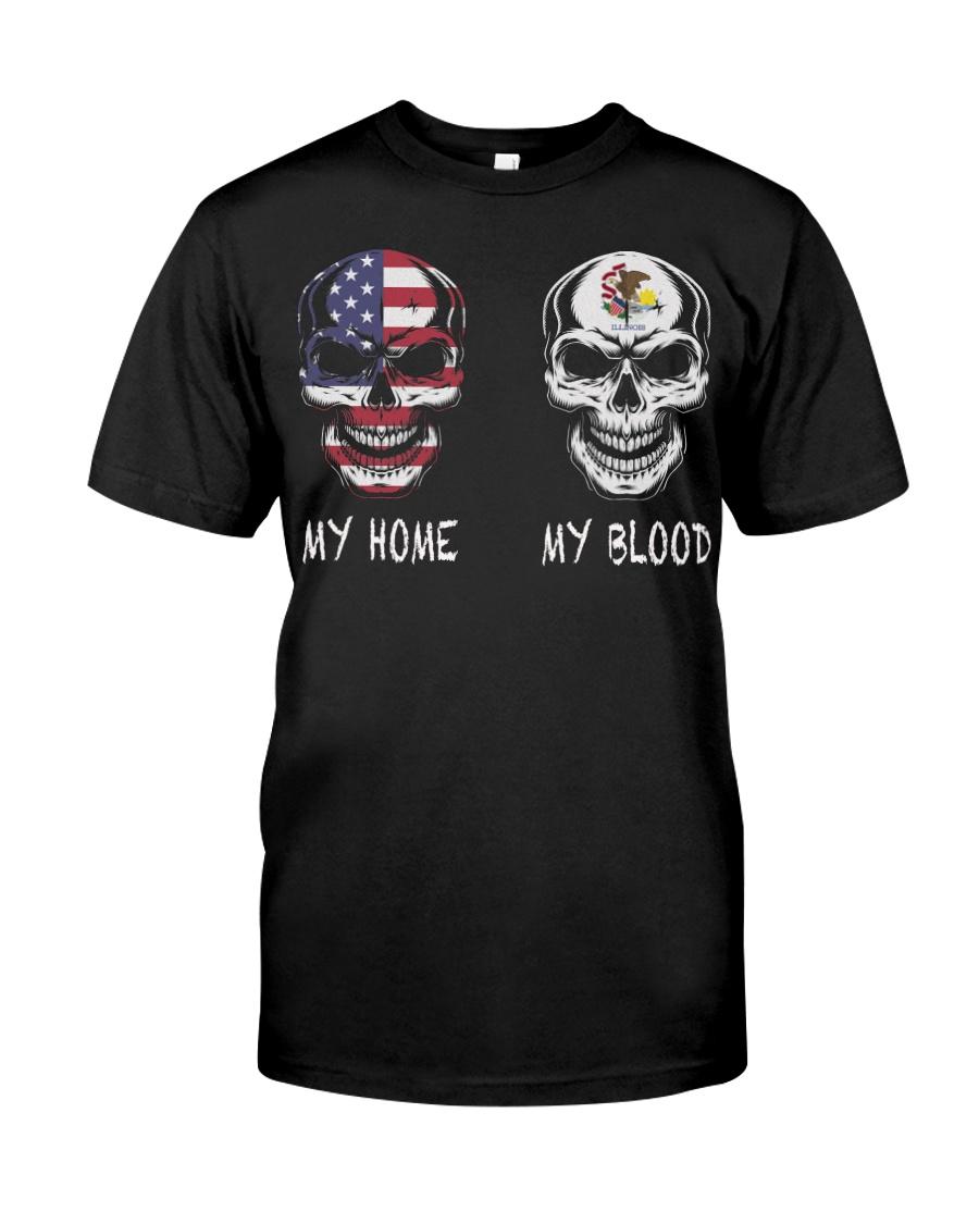 My Blood Illinois Classic T-Shirt