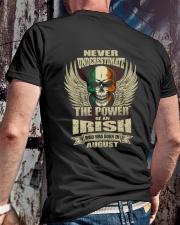 THE POWER IRISH - 08 Classic T-Shirt lifestyle-mens-crewneck-back-2