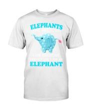 elephant Classic T-Shirt front