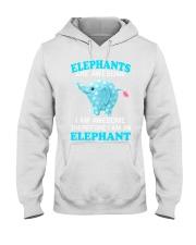 elephant Hooded Sweatshirt thumbnail