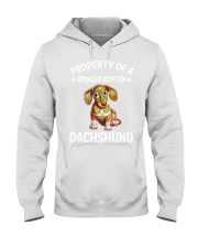 dachshund Hooded Sweatshirt thumbnail