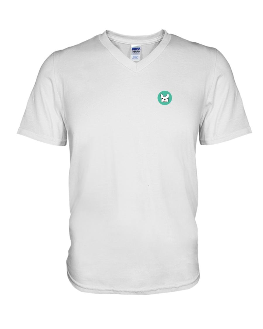 Pup Logo Shirt V-Neck T-Shirt