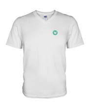 Pup Logo Shirt V-Neck T-Shirt front