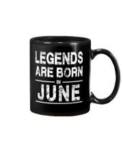 Legends are born in June Mug thumbnail