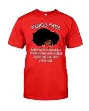 Black Girl Virgo Classic T-Shirt front