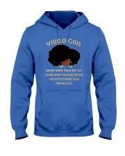 Black Girl Virgo Hooded Sweatshirt thumbnail
