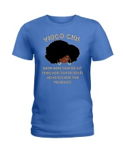Black Girl Virgo Ladies T-Shirt thumbnail