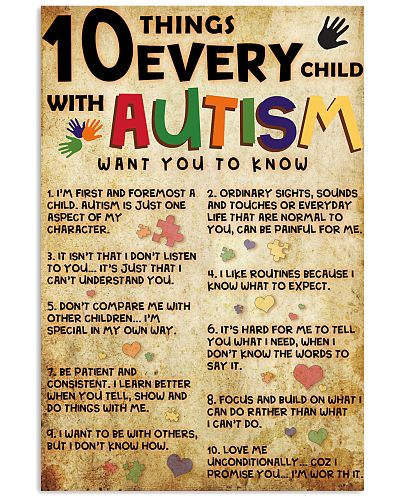 Autism poster - Limited Edition