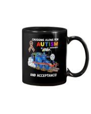 Chugging Along For Autism Awareness And Acceptance Mug thumbnail