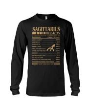 Sagittarius Facts Long Sleeve Tee thumbnail