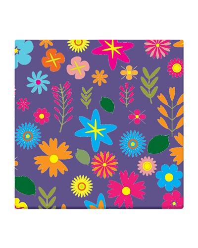 colourful floral design