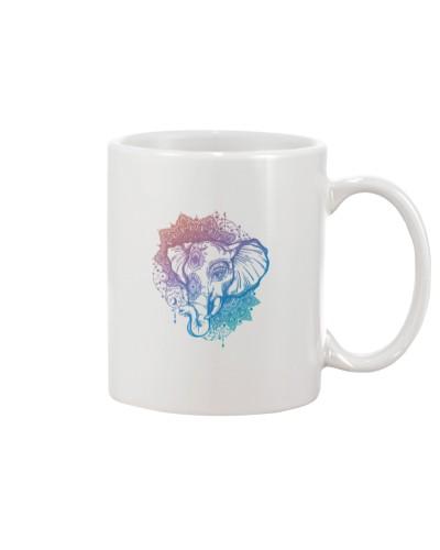 elephant Mandela design