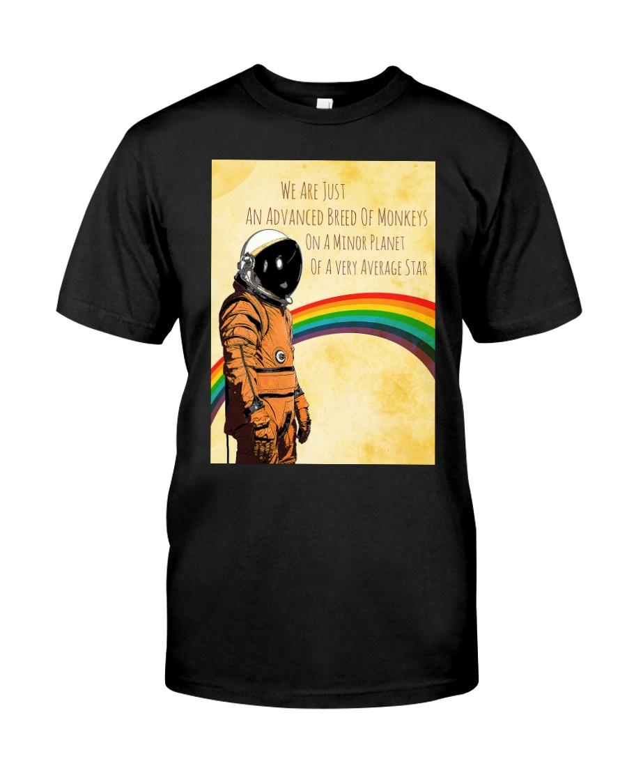 Stephen Hawking - Advanced breed of monkeys Classic T-Shirt