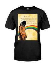 Stephen Hawking - Advanced breed of monkeys Classic T-Shirt front