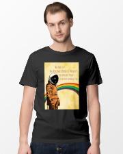 Stephen Hawking - Advanced breed of monkeys Classic T-Shirt lifestyle-mens-crewneck-front-15