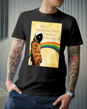 Stephen Hawking - Advanced breed of monkeys Classic T-Shirt lifestyle-mens-crewneck-front-6
