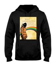 Stephen Hawking - Advanced breed of monkeys Hooded Sweatshirt thumbnail