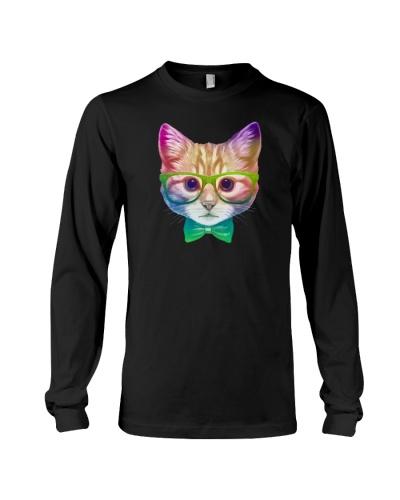 Rainbow Academicat - Skeptical Kitten