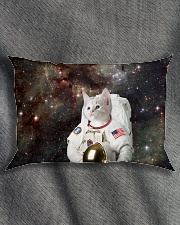 Catstronaut in Space Rectangular Pillowcase aos-pillow-rectangle-front-lifestyle-1