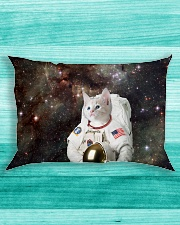 Catstronaut in Space Rectangular Pillowcase aos-pillow-rectangle-front-lifestyle-5