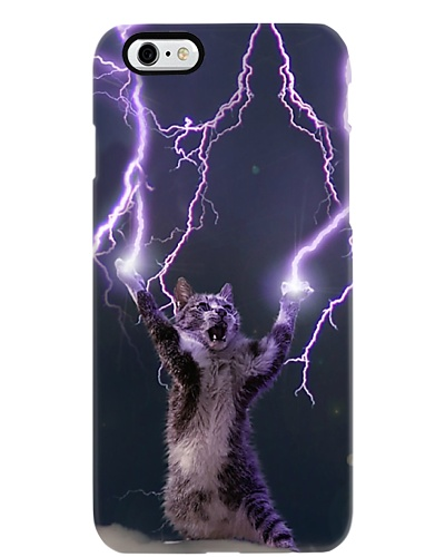 Lightning and Thunder cat shirt