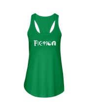 All the world's religions are fiction Ladies Flowy Tank front