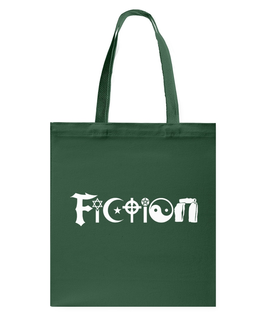 All the world's religions are fiction Tote Bag