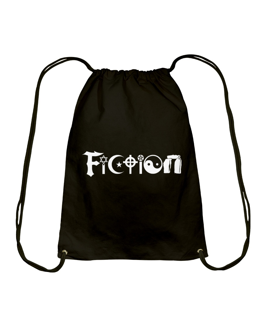 All the world's religions are fiction Drawstring Bag