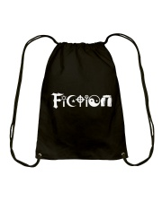 All the world's religions are fiction Drawstring Bag thumbnail